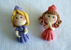 Polymer Clay girls, masa flexible, cold porcelain, masa francesa, porcelana fria