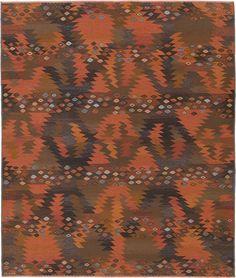 F.J. Hakimian Swedish Flat Weave rug.