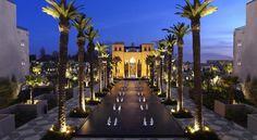 泊ってみたいホテル・HOTEL|モロッコ>マラケシュ>メナラ庭園から車で3分、庭園、山々の景色を望めます>フォーシーズンズ リゾート マラケシュ(Four Seasons Resort Marrakech)