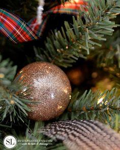 No Mess Glitter Glass Ornaments