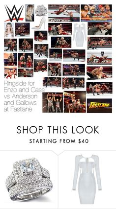 """""""Ringside for Enzo and Cass vs Anderson and Gallows at Fastlane"""" by wwediva72 ❤ liked on Polyvore featuring beauty and WWE"""