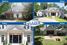 view home renovation before and after photo collages of projects we
