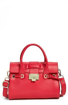 Jimmy Choo 'Rosalie' Leather Satchel available at #Nordstrom