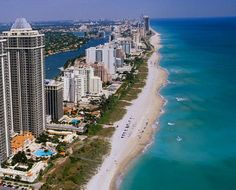 Miami, Florida - I remember eating dinner and looking out at the ocean...ahhh