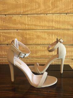 13ad2e58c09f Womens Dress Shoes Heel Beige Size 6.5 Glaze model  fashion  clothing  shoes