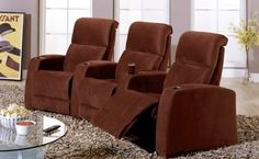 Palliser Home Theater Chairs-Showroom Styles - modern - Home Theater - Dallas - McCabe's Theater & Living