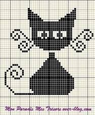 Image result for duplicate stitch graphed letters