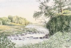 """Song of the Sioux"" shows the meandering, lazy Sioux River."