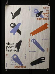 Visual Poetry Festival on Behance