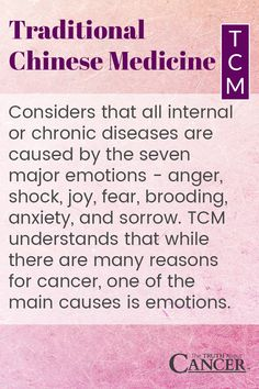 Traditional Chinese Medicine considers that all internal or chronic diseases are caused by the seven major emotions anger, shock, joy, fear, brooding, anxiety, and sorrow understands that while there are many reasons for cancer, one of the main causes is emotions. Click on the image above to find out more as Ty Bollinger explains how your emotions affect your body. Please re-pin. Together we are changing the world and saving lives everyday.