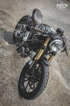Ducati Scrambler by Zeus Custom 15