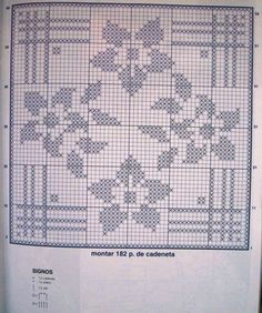 images attach c 0 121 730 Filet Crochet Charts, Crochet Diagram, Crochet Motif, Crochet Doilies, Knit Crochet, Crochet Patterns, Crochet Cushions, Crochet Tablecloth, Sunburst Granny Square