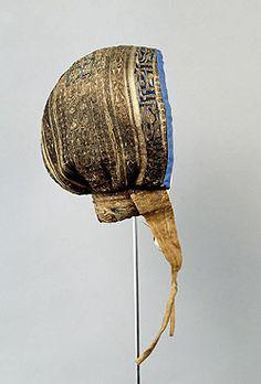 Cofia de Fernando de la Cerda, Infante de Castilla. Hijo de Alfonso X El Sabio. 1189-1211.