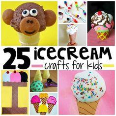 25 Ice Cream Crafts for Kids