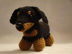 crochet dachshund pattern free - Pesquisa Google