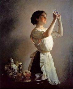 Paintings of William McGregor Paxton