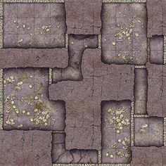 Heroic Maps - Geomorphs: Mountain Necropolis - Heroic Maps | Buildings | Caverns & Tunnels | Dungeons | Ruins | Geomorphs | Tombs | DriveThruRPG.com