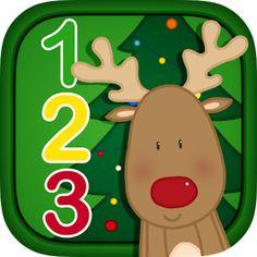 Juega a asociar el nº y la cantidad con estos divertidos juegos navideños