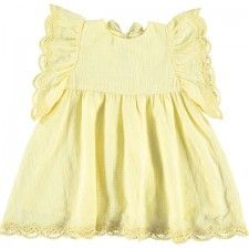 Boheme Dress in Yellow by Louise Misha Thumbnail