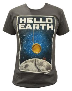 """""""Doctor Who"""" Doctor Who: Hello Earth T-shirt at BBC Shop"""