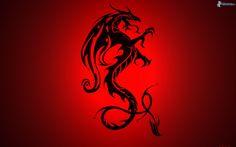 Kelsey Mason - wallpaper desktop red dragon - 1920 x 1200 px