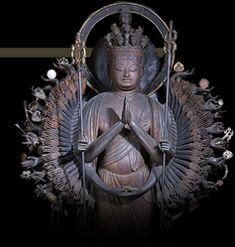 【南山城十一面観音巡礼】寿宝寺・十一面千手観音立像