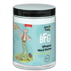 A The BFG Whopsy Word Game- a classic game great for 9 year old boys!