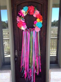 Fiesta Wreath - Viva Fiesta                  San Antonio,TX