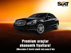 En yeni premium araçlar, ekonomik fiyatlar ile Sixt rent a car'da! Hemen rezervasyon için: www.sixt.com.tr