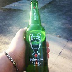 #Heineken birra ufficiale della finale di #Champions