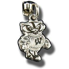 LogoArt Silver Bucky Charm
