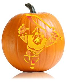 Clash of Clans Pumpkin Carving Pattern