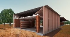 Modelo. Image Cortesía de Kere Architecture