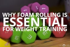Why Foam Rolling Is Essential For Weight Training http://qualiproducts.com/wp/why-foam-rolling-is-essential-for-weight-training/