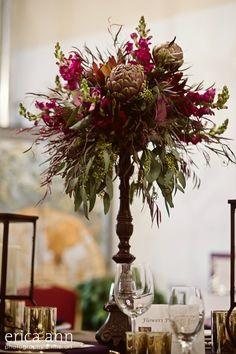 plum purple wedding flowers, portland or.  rustic vineyard wedding flowers  http://sophisticatedfloral.com/