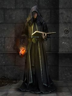 Dalamar the Sorcerer - a very powerful ignis that was enchanted to work for the Dark order
