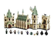 100 Harry Potter Gifts We'd Love to Find Under the Tree - Harry Potter Lego Hogwarts Castle