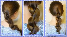 Braid With A Twist, Quick and Easy Beginner Hairstyle