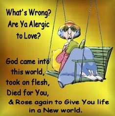 Allergic to love?