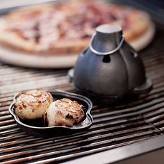 Cast Iron Garlic Roaster in Barbecue   Crate and Barrel