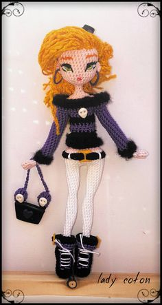 Little witch little witch fully handmade crochet by Ladycotonbyme ♡