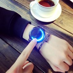 Creative Personality Minimalist Leather Normal Waterproof LED Watch Men And Women Couple Watch Smart Electronics Casual Watches Price: & Flat Rate Shipping Cheap Watches, Casual Watches, Cool Watches, Watches For Men, Women's Watches, Wrist Watches, Popular Watches, Elegant Watches, Beautiful Watches
