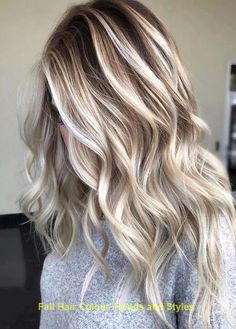 trendy cool blonde ombre hair color ideas in 2020 15 Blonde Ombre Hair, Ombre Hair Color, Hair Color Balayage, Blonde Balayage, Brown Hair Colors, Hair Colour, Icy Blonde, Brown Blonde Hair, Brown Hair With Highlights