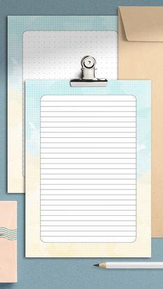#printablestationery #etsystationery #invitation #planner #minimalist #journaling #digitalpaper #snailmail #officedecor #notepad #memo #stationery #letterwriting #printableplanner #todolists #study #stationerysupplies #penpals #bulletjournal #notecards Letter Stationery, Korean Stationery, Cute Stationery, Planner Sheets, Planner Inserts, Printable Planner, Planner Stickers, Printables, Writing Paper
