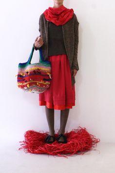 Daniela Gregis washed shawl