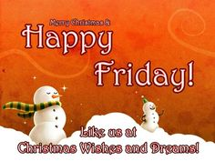 Fredag og jul