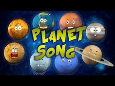 Planet Song | solar system song - YouTube