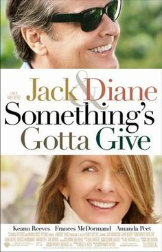 I always like Diane Keaton. Jack Nicholson is so good in a romantic comedy, too --- I just love/hate him!