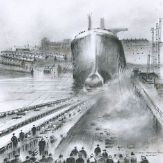 Launch of a Supertanker signed limited edition print by Roy Francis Kirton