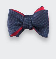 CINABRE Paris - Nœud Papillon Carbone 03 / Bow Tie Carbone 03 - Made in France #bowtie #man #fashion #wedding